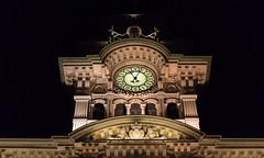 Eleven o five (Massimo Buccolieri) Tags: clock five eleven trieste