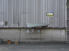 Smoking can damage your health (roadscum) Tags: england sign docks shed smoking warehouse oops bent shelter essex tilbury