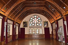 Shetland Islands.  Lerwick. Town hall. (Anne & David (Use Albums)) Tags: townhall lerwick shetlands shetlandislands