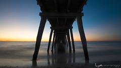 2016 - Landscape - Sunset - Largs - 03-21-03.jpg (stevenlazar) Tags: ocean sunset beach clouds waves jetty australia adelaide southaustralia largs 2016