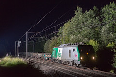 15072016-7387 - SNCF - BB27037 @Bulligny (rino54) Tags: france night sony flash trains prima alstom fret nuit sncf cheminsdefer a7ii 27037 bb27000 yongnuo godox