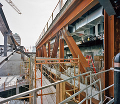 Steel Structure of the Upper Floor Mechanical Room , 2016. (uoftdaniels) Tags: architecture landscape universityoftoronto urbanism uoft petermaccallum danielsfaculty onespadina uoftdaniels boundlessbydesign