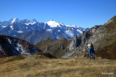 Autumn Riding around Verbier  (81) (Carl and Sian) Tags: orange alps switzerland mtb mountainbiking verbier singletrack orangefive bikeverbier alpinesingletrack carlandsian