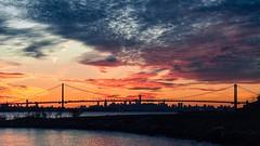 You'll remember me (Lojones13) Tags: sunset sky cloud newyork silhouette outdoor eastriver magichour nikond5000