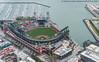 Aerial AT&T Park (DSC03692) (Michael.Lee.Pics.NYC) Tags: sanfrancisco bridge architecture marina stadium sony aerial giants chinabasin mlb mccoveycove majorleaguebaseball attpark seaplaneadventures fe55mmf18 a7rm2