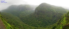 Panorama 6 (Prof.Suresh G. Isave) Tags: varandha onedaytrek tourists attractions near pune maharashtratourism monsoon spots rainy bhor