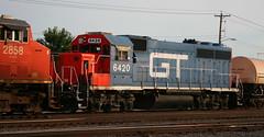 GTW 6420, Byrd, Neenah, 10 July 16 (kkaf) Tags: byrd gtw neenah gp402