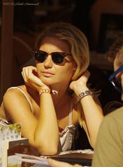 Portrait (Natali Antonovich) Tags: brussels portrait sunglasses glasses cafe belgium belgique belgie lifestyle stare tradition relaxation terras reverie sweetbrussels