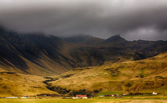 Southern Iceland into the dark (Nick L) Tags: rain canon landscape eos iceland 5d summerhouse icelandic eyjafjallajkull canon100400l southiceland eyjafjallajokull southerniceland 5d3