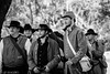 Civil War @ Liendo Plantation: Cutting Up (Lindsay Feldner) Tags: bw civilwar goofballs liendo cuttingup