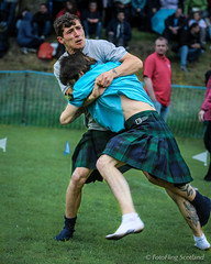 David Blair & George Reid (FotoFling Scotland) Tags: scotland kilt fife event wrestler grip hold ceres highlandgames georgereid davidblair scottishwrestlingbond wrestlingbond