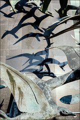birdland | leeds (John FotoHouse) Tags: sculpture birds flickr fuji shadows yorkshire leeds johndolan 2014 dolan leedsflickrgroup leedsflickr johnfotohouse yorkshirephotographer copyrightjdolan yorkshirebasedphotographer fujifilmx100s