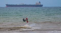 Kite Surfing (stu.lawn) Tags: canon stu lawn l 70300mm 70d