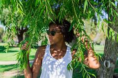 Through the Green (AdrienneCredoPhotography) Tags: california park autumn summer tree nature nikon socal irvine d3200