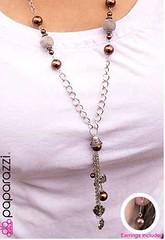 5th Avenue Brown Necklace K1A P2310A-2
