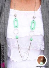 Glimpse of Malibu Green Necklace K2 P2820-2