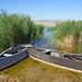 Macedonia, Florina region, Petres lake, boats, Greece #Μacedonia