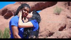 Landon & Kayla (elvolo) Tags: park arizona portrait love phoenix rock engagement couple hole papago session interracial