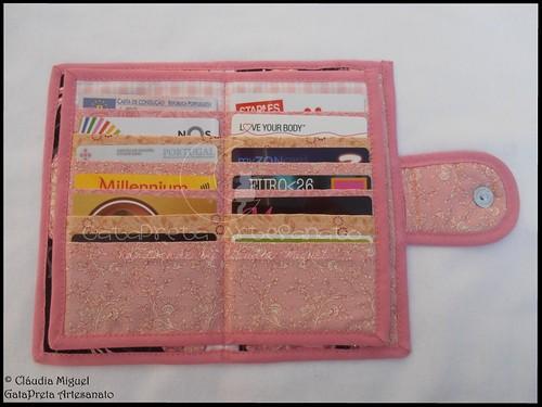 """Carteira para notas, moedas, 24 cartões e cheques """"Petite Ballerine"""""""