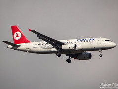 Turkish Airlines --- Airbus A320 --- TC-JPP (Drinu C) Tags: plane aircraft sony airbus dsc turkish a320 mla turkishairlines lmml tcjpp hx100v adrianciliaphotography