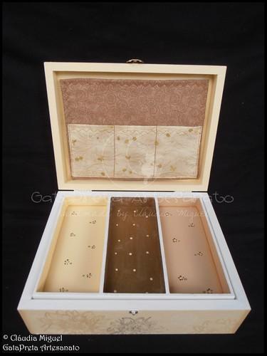 """Caixas de maquilhagem e bijuteria """"Mannequin Doré"""""""