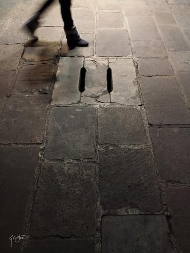 walking in Barcelona