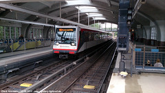 131 Volksdorf (B100S) Tags: hamburg ubahn hha hochbahn dt4