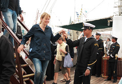 Welcome on board (cats_in_blue) Tags: aarhus sailingships rhus cuauhtemoc tallshipsraces tallshipsraces2013
