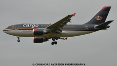 2014_07-05_LHR488 (COOLMORE PHOTOGRAPHY) Tags: airport heathrow cargo airbus airliner lhr freighter royaljordanian a310 egll a310f a3103 royaljordaniancargo a3103f heathrowjyagr airlinerslondon