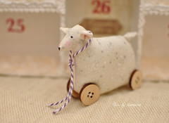 Tilda sheep (LlamaRu) Tags: toy sheep handmade sew tilda