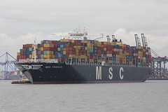 MSC Trieste (Yorkshire's Finest) Tags: boat ship vessel containership msc