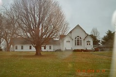2014 December 13 Traveling through Spring Hill TN (King Kong 911) Tags: houses church springhill traveling stores