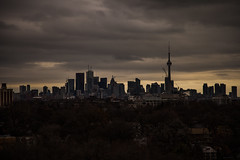 A Gloomy Day in Hogtown (Jack Landau) Tags: city urban toronto skyline dark downtown gloomy somber
