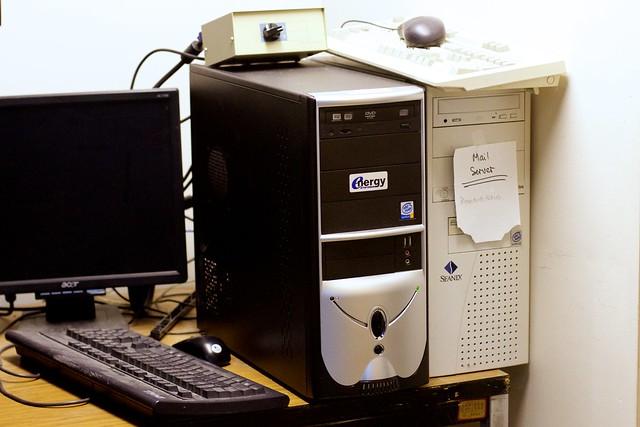 CFBX Server Room