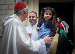 Cardinal Vincent Visit to Gaza (Catholic Church (England and Wales)) Tags: cardinal vincent visit gaza