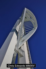 Spinnaker Tower (Chris Edwards 1999) Tags: uk chris tower heritage tourism canon lens army photography eos photo mod navy culture royal landmark 1999 victory symmetry historic portsmouth historical hampton spinnaker southampton edwards tamron gibraltar photostream hms dockyard 6d 2470mm istory 82 mmxiv