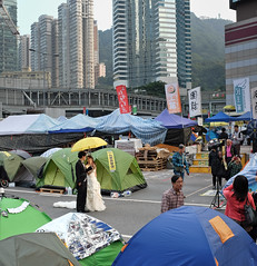occupy central wedding (immu) Tags: wedding hongkong central protest hong kong admiralty occupy occupycentral