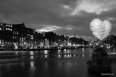 Stadsgezicht vanaf Stopera (Travel4Two) Tags: amsterdam c0 s0 4000k amsterdamlightfestival adl0 2014l