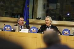 Franois Bayrou and Francesco Rutelli (PDE-EDP) Tags: logo fb rond rutelli bayrou