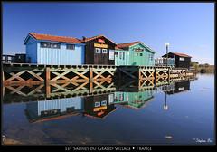 Le port des Salines (HimalAnda) Tags: france colors port harbour couleurs reflet 17 reflexion oléron charentemaritime poitoucharentes canoneos70d eos70d stéphanebon