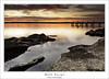 Buff Point Dec 2014 (Mathew Courtney) Tags: sunset lake water nsw centralcoast budgewoilake buffpoint