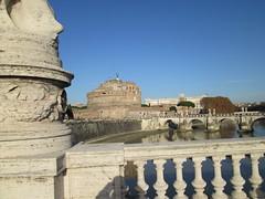 Castel Sant'Angelo 6 (Birnardo) Tags: roma italia fiume ponte tevere acqua castello lazio