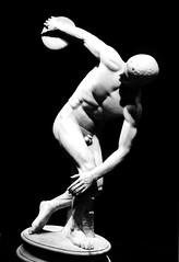The Discobolus (ilConte) Tags: sculpture rome roma film statue statua scultura discobolus palazzomassimo pellicola discobolo palazzomassimoalleterme