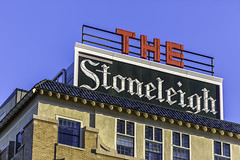 The Stoneleigh Hotel Rooftop Neon Sign (Mabry Campbell) Tags: november usa sign photography hotel photo dallas neon texas photographer exterior realestate unitedstates image tx nopeople photograph commercial neonsign 100 client f28 fineartphotography 2014 200mm architecturalphotography stoneleigh dallascounty cityofdallas colorimage commercialphotography commercialrealestate commercialproperty mapleave architecturephotography ef200mmf28liiusm architectureexterior 3500mapleavenue stoneleighhotel houstonphotographer 3500maple ¹⁄₁₂₅₀sec cassidyturley mabrycampbell bridgerconway november272014 20141127h6a1028 buildingexteriror
