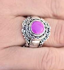 Glimpse of Malibu Purple Ring K2 K4161A-2