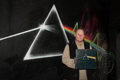 Dark Side of Anthony Youel (102) (PHH Sykes) Tags: street pink moon david art dark monkey pub paint gallery cross album side can spray cover anthony floyd the thurgoland youel floyds