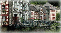 Monschau (Montjoie), Eifel, Deutschland, Germany (claude lina) Tags: architecture germany deutschland eifel allemagne monschau colombages roer rur ardoises montjoie