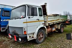 fiat 130NC (riccardo nassisi) Tags: truck pc rust fiat rusty camion scrapyard om wreck piacenza relitto abbandonato