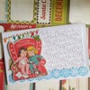 Last minute made this Christmas card. #christmas #octoberafternoon #echoparkpaper #sizzix