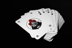 (Andrea Russo3) Tags: bw abstract monochrome photoshop canon monocromo blackwhite bn jolly bianco nero biancoenero carte wildcard monocromatico cartedagioco canon600d